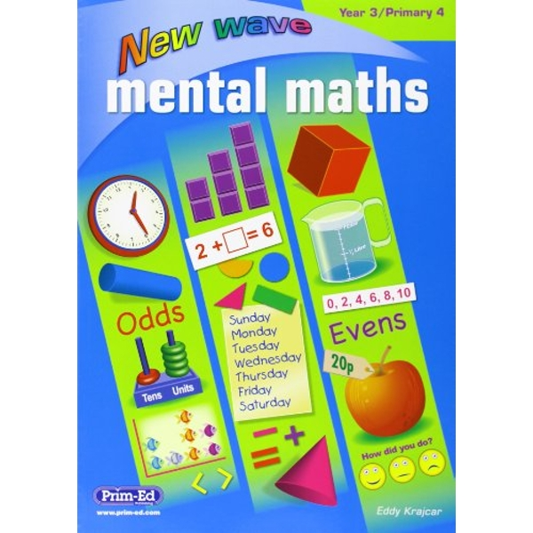 NEW WAVE MENTAL MATHS YEAR 3 PRIMARY 4  Paperback 2016