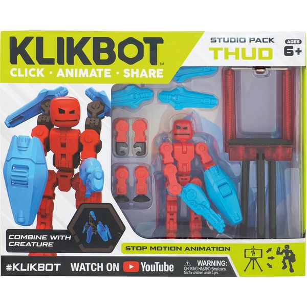 Thud KlikBot Studio Pack Action Figure