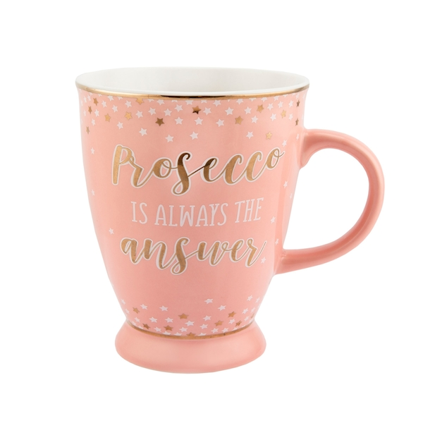 Sass & Belle Prosecco Party Pink Mug