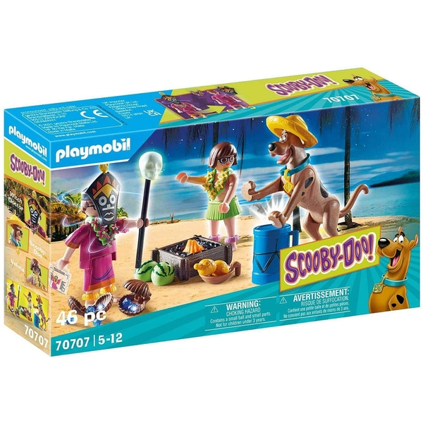 Playmobil Scooby-Doo Adventure with Witch Doctor Playset