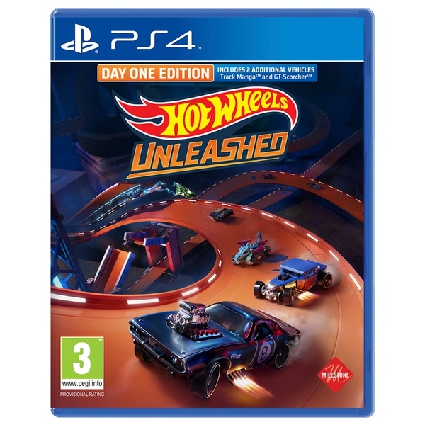 Hot Wheels Unleashed Day One Edition	PS4 Game