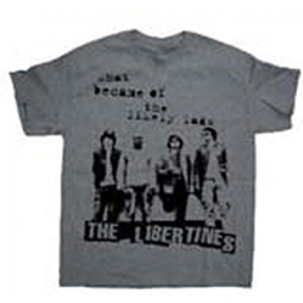 The Libertines - Likely Lads Men's Large T-Shirt - Grey