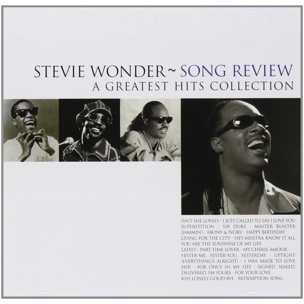 Stevie Wonder ~ Song review - A Greatest Hits Collection CD
