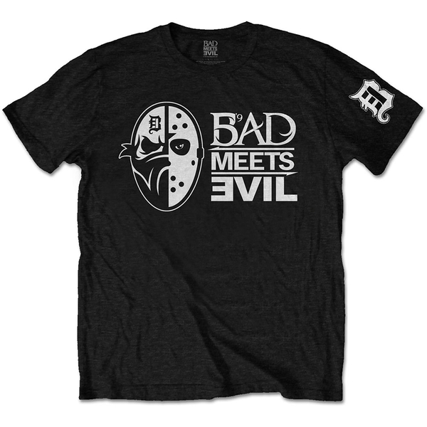 Bad Meets Evil - Masks Men's X-Large T-Shirt - Black