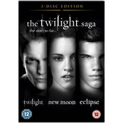 The Twilight Saga Triple Pack DVD