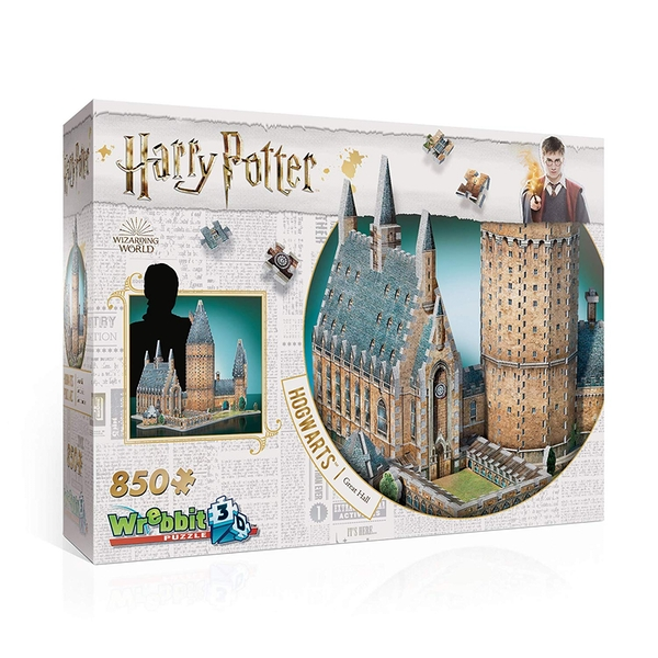 Harry Potter Hogwarts Great Hall 3D Jigsaw - Image 1