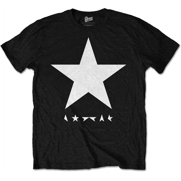 David Bowie - Blackstar Men's XX-Large T-Shirt - Black