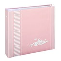 """Hama """"Lasse"""" Memo Album, for 200 photos with a size of 10x15 cm, pink"""