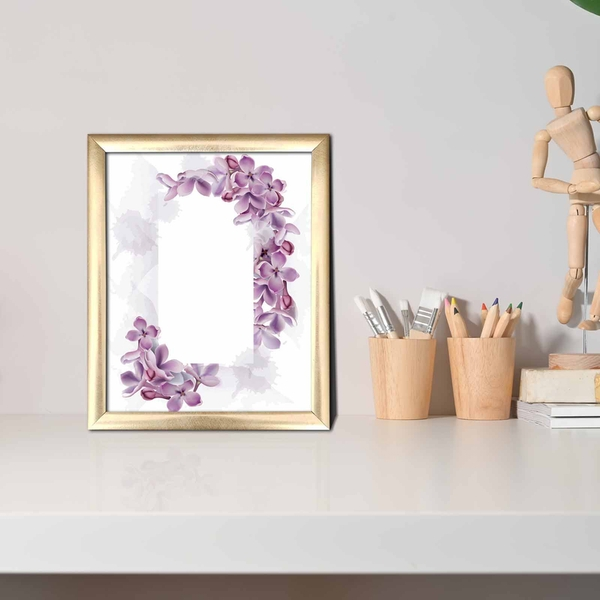ACT-009 Multicolor Decorative Framed MDF Painting