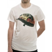 Full Metal Jacket - Helmet Men's Small T-Shirt - White