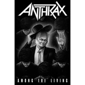 Anthrax - Among The Living Textile Poster