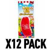 Tasty Cherry (Pack Of 12) 3D Gel Candy Crush Air Freshener