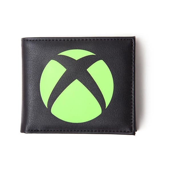Microsoft - Logo Men's Bi-Fold Wallet - Black
