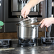 Stainless Steel Saucepans - Set of 3 | M&W - Image 6