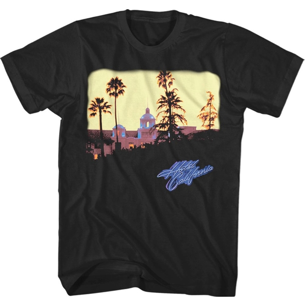 Eagles - Hotel California Men's Large T-Shirt - Black