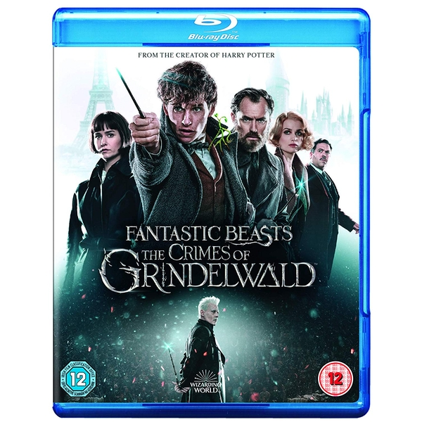 Fantastic Beasts: The Crimes Of Grindelwald Blu-ray