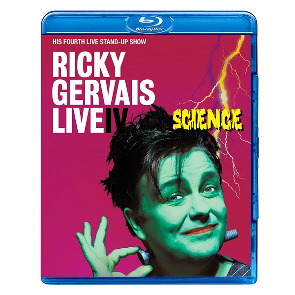 Ricky Gervais Live Science Blu-ray