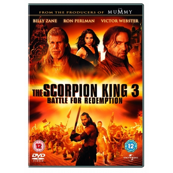 The Scorpion King 3: Battle For Redemption DVD (2012)