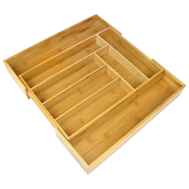 Bamboo Extending Cutlery Drawer | M&W