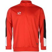 Sondico Venata Quarter Jacket Youth 11-12 (LB) Red/White/Black
