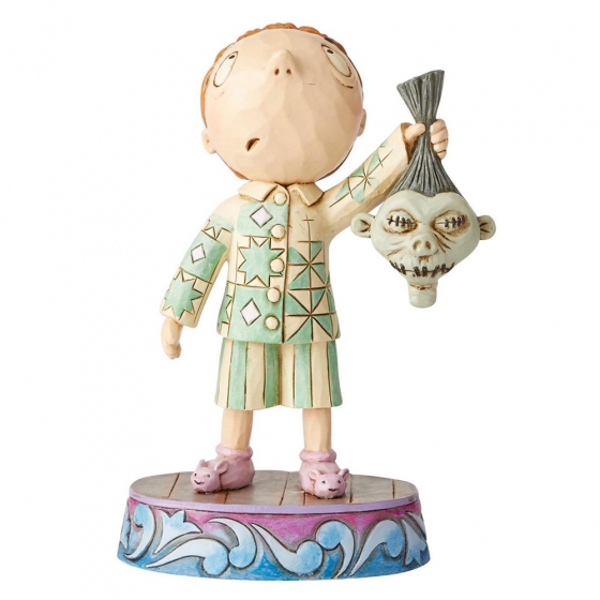Timmy with Shrunken Head (The Nightmare Before Christmas) Disney Traditions Figurine