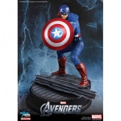 Avengers Captain America Action Hero Vignette