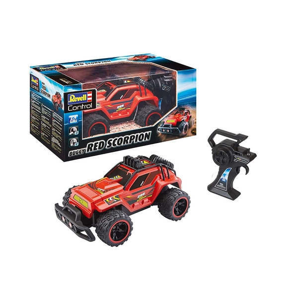 Red Scorpion Buggy Revell Control Radio Control Car