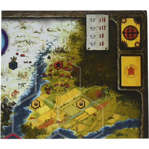 Scythe Game Board Extension Board Game