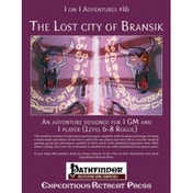 1 on 1 Adventure 16 The lost City of Bransik