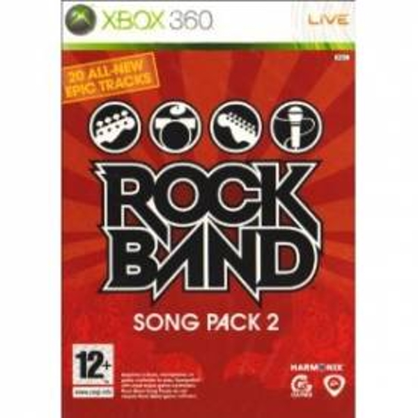 Rock Band Song Pack 2 Solus Game Xbox 360