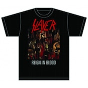 Slayer Reign in Blood Mens T Shirt: Small