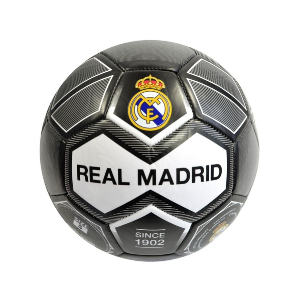 Real Madrid Crest 26 Panel Ball Size 5 Black