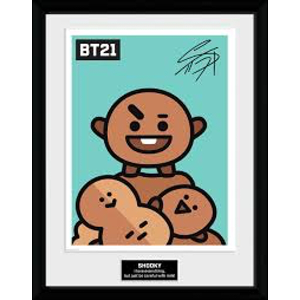 BT21 - Shooky Collector Print