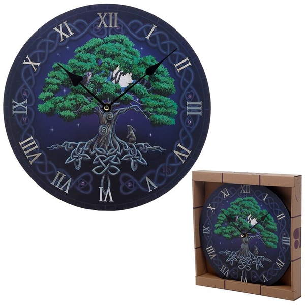 Fantasy Tree of Life Wall Clock