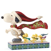 Skate Mates (Snoopy with Woodstock and friends) Figurine