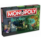 Ex-Display Rick & Morty Monopoly Used - Like New