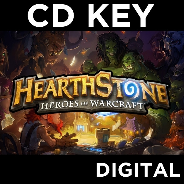 Heroes Of Warcraft HearthStone Card Pack PC CD Key Download for Battle