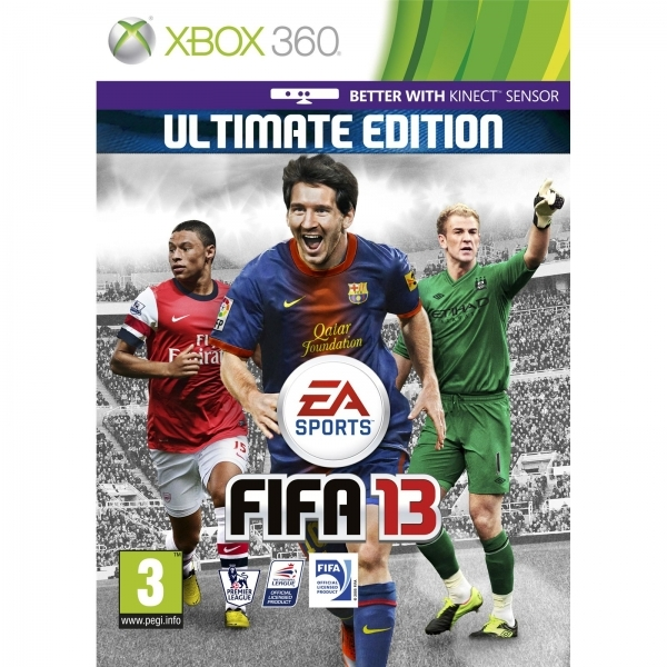 FIFA 13 Ultimate Edition (Kinect Compatible) Game Xbox 360