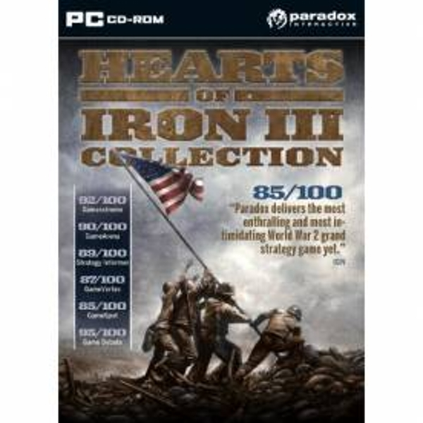 Hearts Of Iron III 3 Collections Game PC