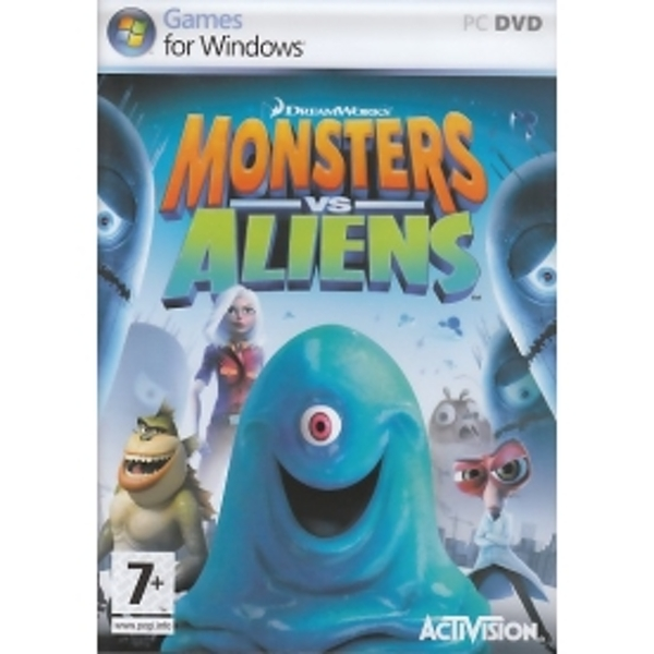Monsters vs Aliens Game PC