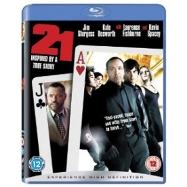 21 Twenty One Blu-Ray