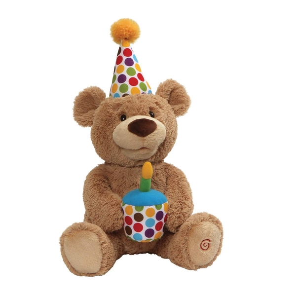 Happy Birthday! the Animated Bear Soft Toy