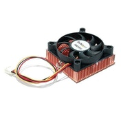Startech 1U 60x10mm Socket 7/370 CPU Cooler Fan with Copper Heatsink & TX3