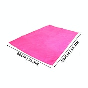 Quick Drying Microfiber Towel | Pukkr Pink Medium (80x130cm)