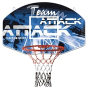 Sure Shot Team Attack Basketball Ring and Backboard