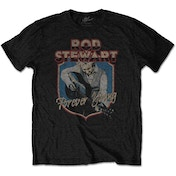 Rod Stewart - Forever Crest Men's X-Large T-Shirt - Black