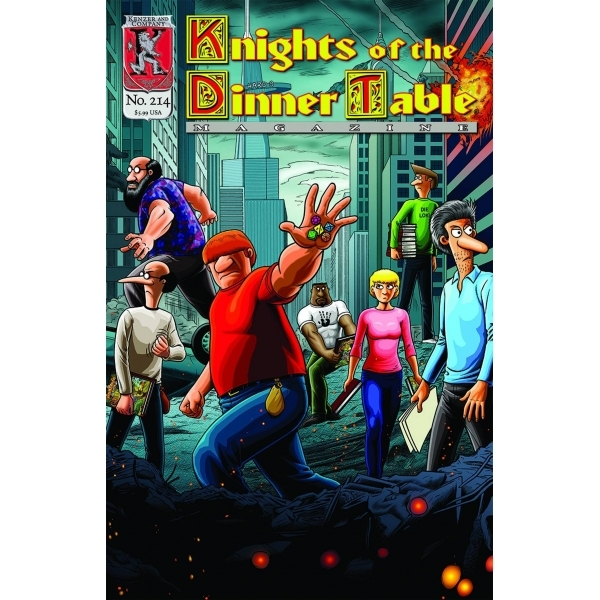 Knights of the Dinner Table Issue # 214
