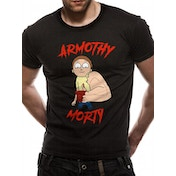 Rick And Morty - Armothy Men's Small T-shirt - Black