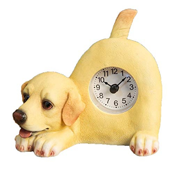 Best of Breed - Yellow Labrador Mantel Clock