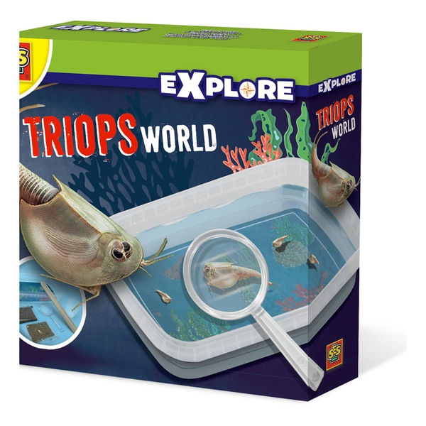 SES Creative - Children's Explore Triops World Experiment Kit (Multi-colour)